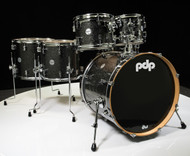 PDP Concept Maple 6pc Shell Pack - Black Sparkle