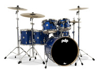 PDP Concept Maple 6pc Shell Pack - Blue Sparkle