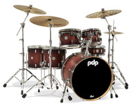 PDP Concept Maple 6pc Shell Pack - Satin Tobacco Burst