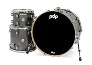 PDP Concept Maple 3pc Drum Kit Black Sparkle