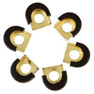 LP Galaxy Shell Protectors Gold 6 Pc
