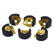 LP Conga Shell Protectors Gold 6 Pcs