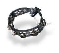 LP Cyclops Mounted Tambourine, Black, Steel
