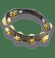 LP Cyclops Handheld Tambourine Black, Brass