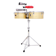 LP Prestige Srs 13 14 Timbales Brass