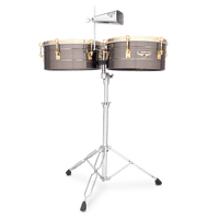 LP 14&15 Mata Timbales Nickel with/Gold