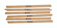 "LP 7/16"" Hickory Timbale Sticks 6Pair"