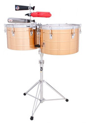 LP Prestige 15/16 Thunder Timbales Brass