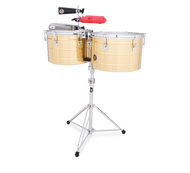 LP 15/16 Brass Thunder Timbales