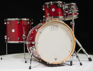 DW Design Series 5pc Drum Set - Cherry Stain