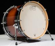 DW Design Series 18x22 Bass Drum Tobacco Burst