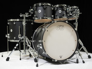 DW Design Series 6pc Drum Set 8/10/12/16/22/14SD - Black Satin