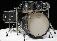 DW Design Series 7pc Drum Set - Black Satin