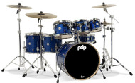 PDP Concept Maple 7pc Shell Pack - Blue Sparkle