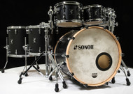 "Sonor SQ1 22"" 7-piece Shell Pack - GT Black with Free Snare"