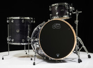 DW Performance Series 3pc Shallow Shell Pack- Ebony Stain