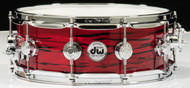 DW Collector's Series 5x14 Maple Snare Drum - Lava Oyster
