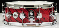 DW Collector's Series 5x14 Maple VLT Snare Drum - Twisted Red Lava