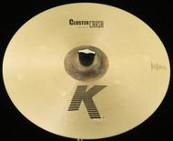 """Zildjian 16"""" K Cluster Crash Cymbal"""