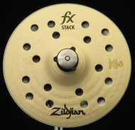 "Zildjian 8"" FX Stack Pair w/Mount"