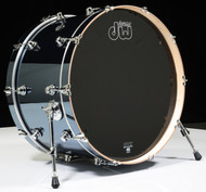 DW Performance Series 14x24 Bass Drum Chrome Shadow