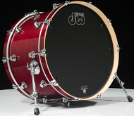 DW Performance Series 14x22 Kick Drum- Cherry Stain
