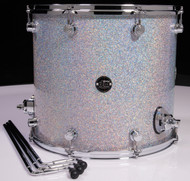 DW Performance Series 16x18 Floor Tom Diamond Nebula