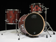DW Performance Series 3pc Drum Kit Tobacco Satin Oil 12/14/20 Shallow
