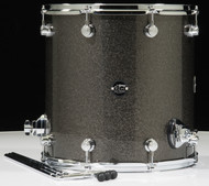 DW Performance Series 16x16 Floor Tom - Pewter sparkle