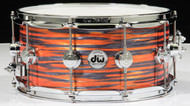DW Collector's Series Snare 6.5x14 - Tiger Oyster