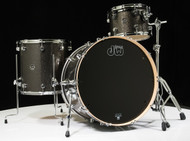 DW Performance Series 3pc Shell Pack Pewter Sparkle 13/16/24 Shallow