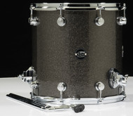 DW Performance Series 14x14 Floor Tom - Pewter sparkle