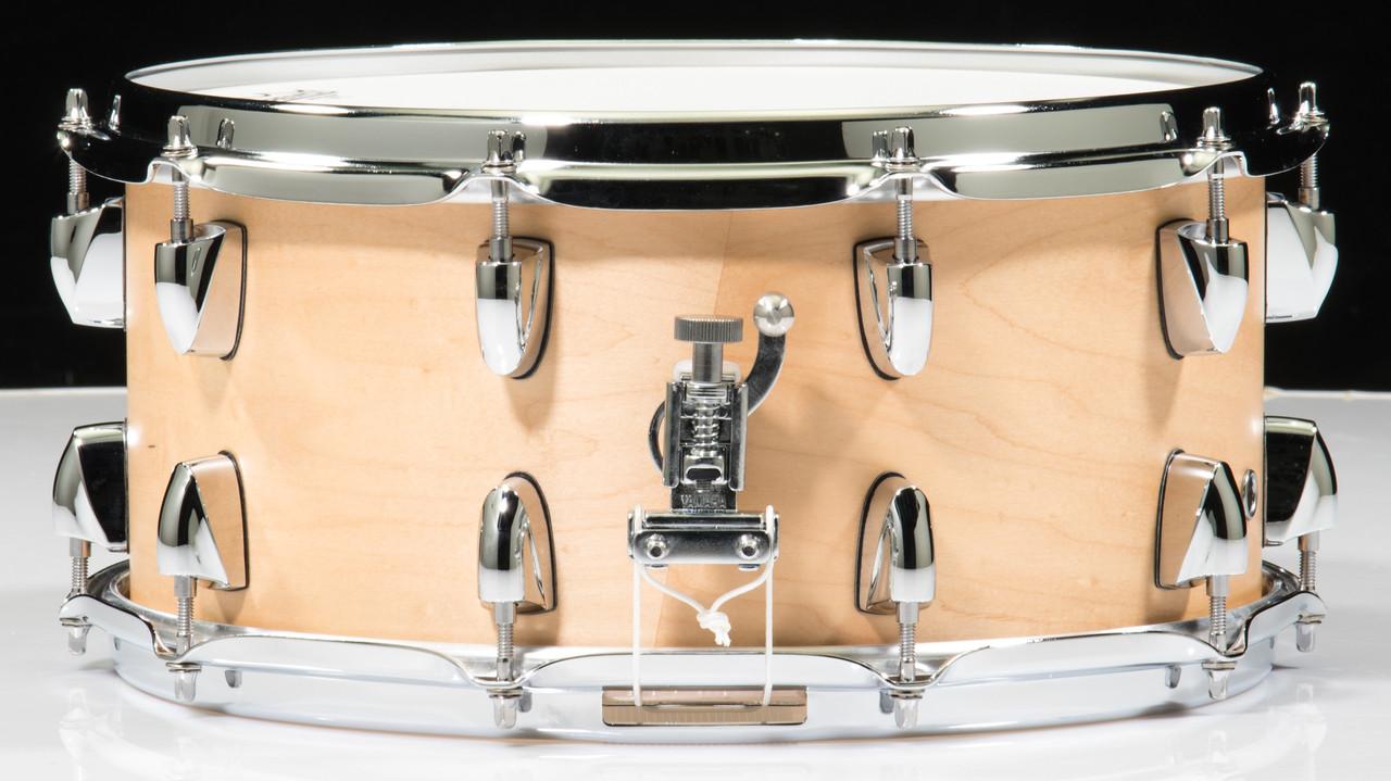 yamaha tour custom 14x6 5 snare drum butterscotch satin. Black Bedroom Furniture Sets. Home Design Ideas