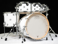 DW Design Series 6pc Drum Set - Gloss White 8/10/12/16/22/14SD