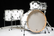 DW Design Series 6pc Drum Set - Gloss White 10/12/14/16/22/14SD