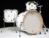 DW Design Series 4pc Drum Set - Gloss White 12/16/22/14SD