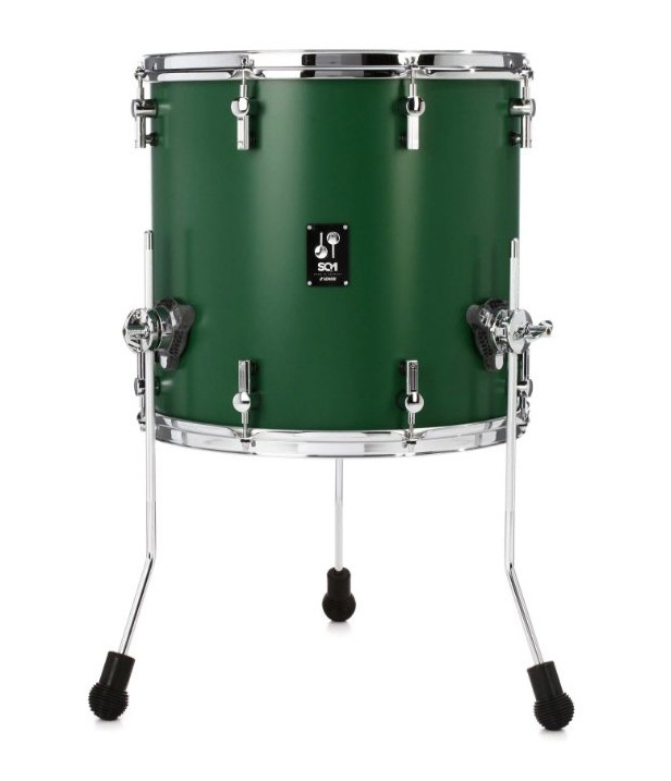 Sonor Sq1 18x17 Floor Tom Roadster Green