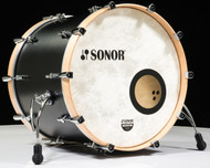 Sonor SQ1 22x17 Bass Drum - GT Black