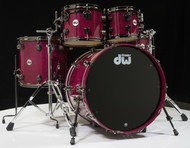 DW Collector's Series 5pc Shell Pack Candy Purple over Kurillian Birch