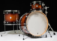 DW Design Series 4pc Drum Set - Tobacco Burst 12/16/22/14SD