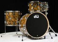 DW Collector's Series Maple 4pc Shell Pack - Gold Abalone