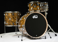 DW Collector's Series Maple 5pc Shell Pack - Gold Abalone