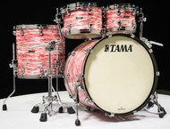 Tama Starclassic Maple 4pc Shell Pack - Red and White Oyster
