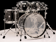 DW Acrylic Design Series Drum 6pc Set - Clear 8/10/12/16/22/14SD