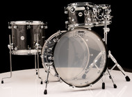 DW Acrylic Design Series Drum 4pc Set - Clear