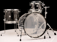 DW Acrylic Design Series Drum 4pc Set - 12/16/22/14SD