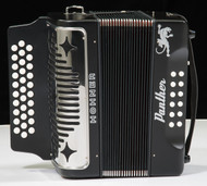 Hohner Panther Accordion - Black (F Bb Eb)