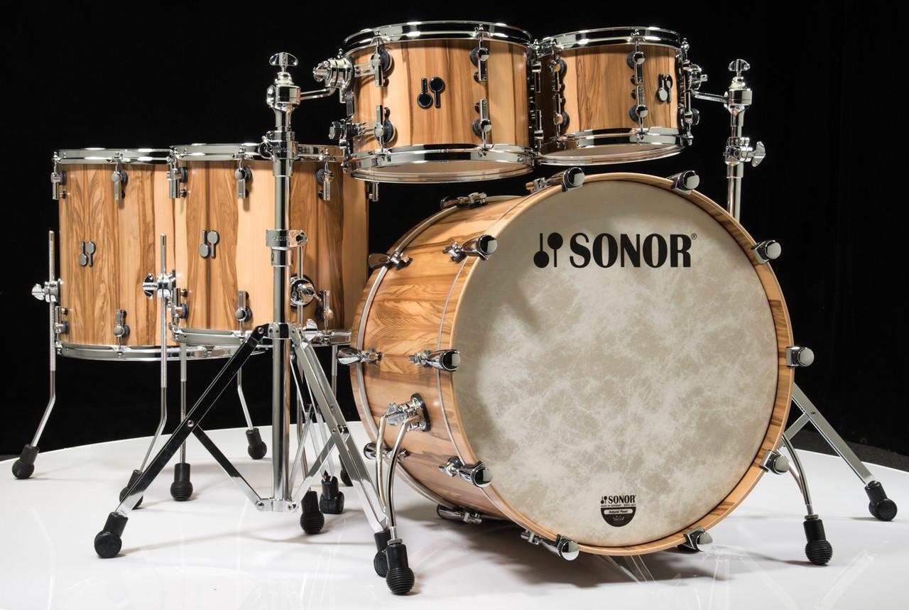 Sonor SQ2 5pc Shell Pack - American Walnut 10/12/14/16/22