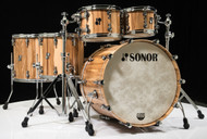 Sonor SQ2 5pc Shell Pack - American Walnut 10/12/14/16/22