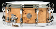 TAMA Starphonic Maple Snare 6x14  - Satin Mappa Burl